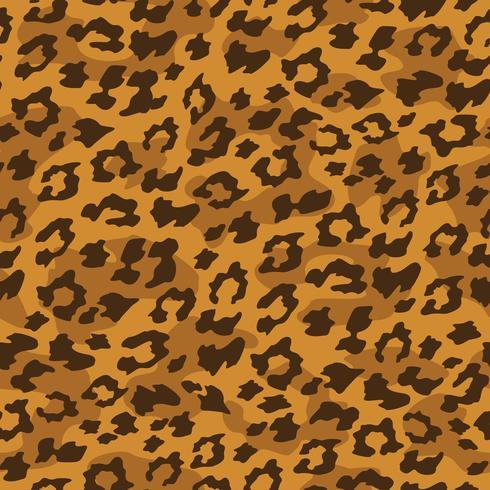 Fundo sem emenda de leopardo. Ilustração vetorial vetor
