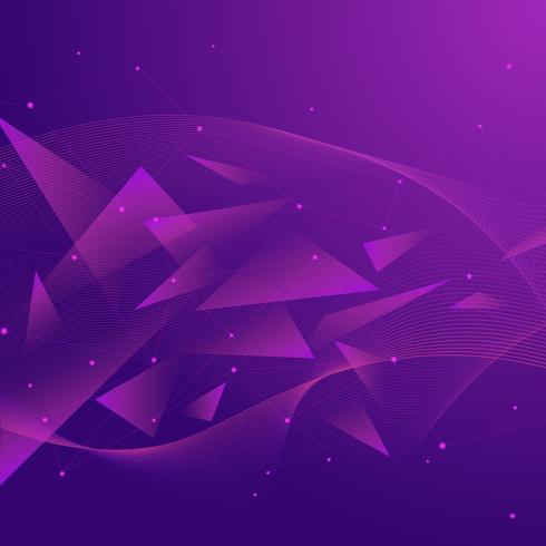Fundo geométrico abstrato vetor