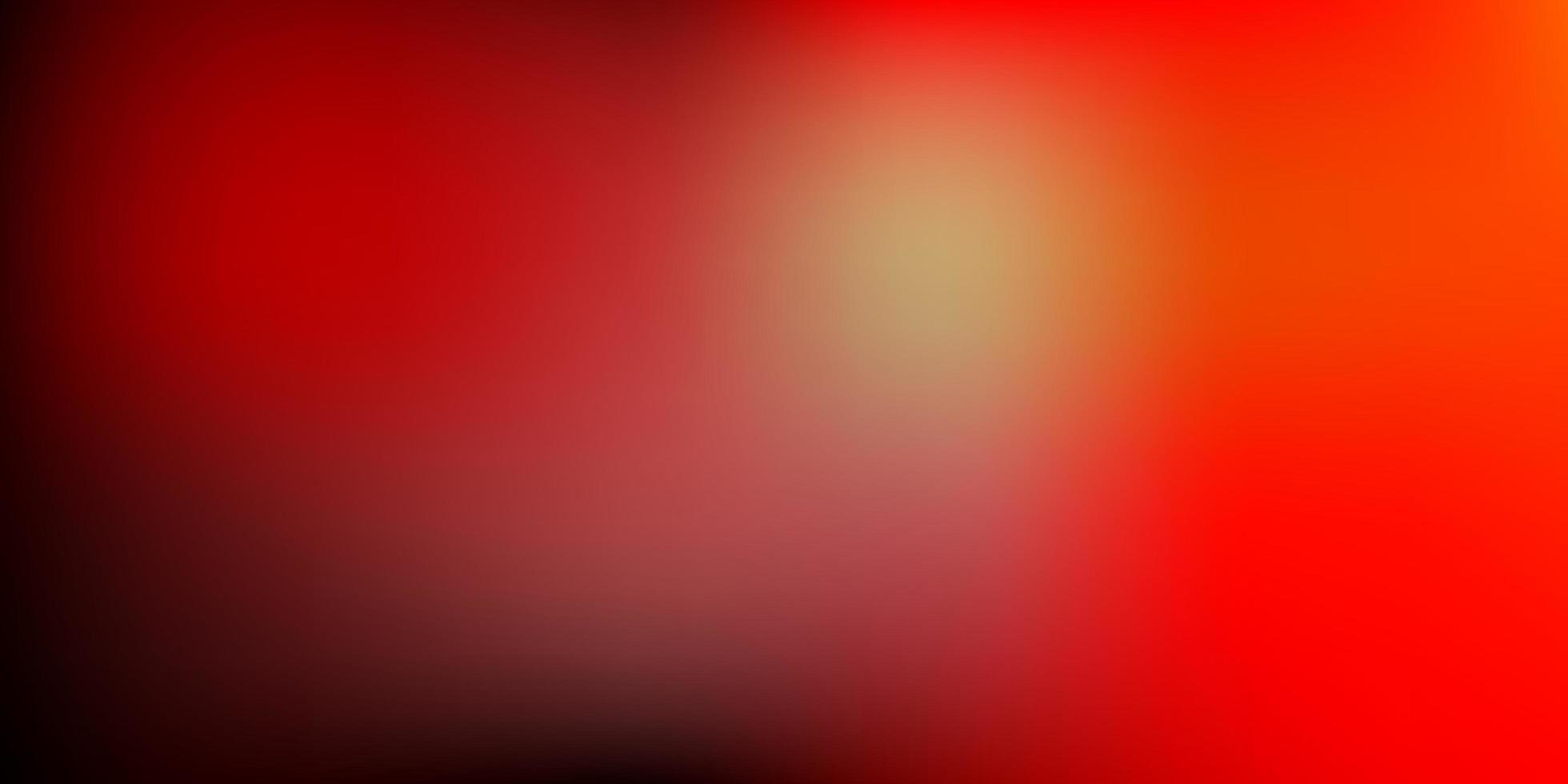 fundo do borrão do vetor laranja escuro.