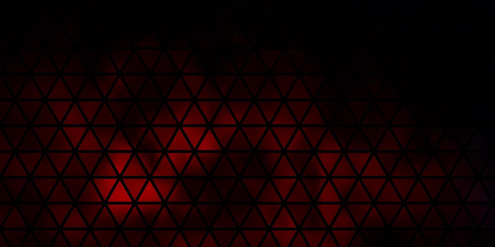 fundo vector vermelho escuro com triângulos.