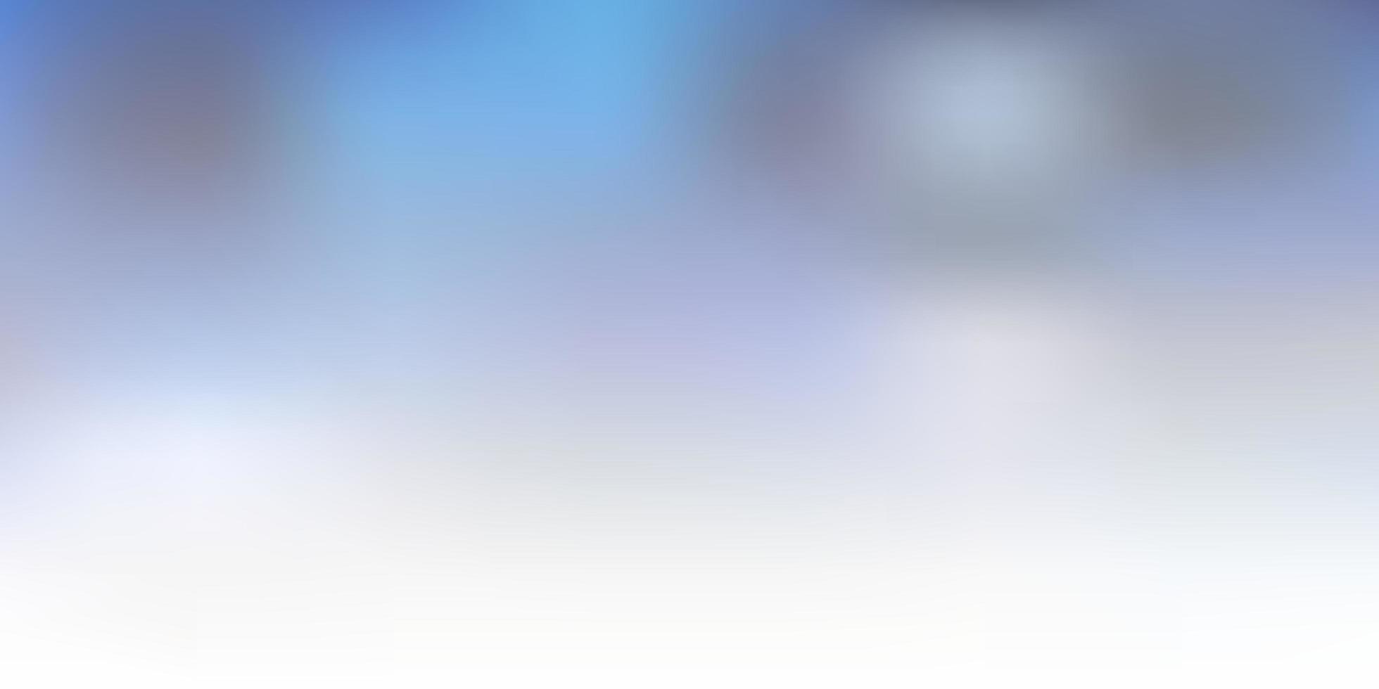 pano de fundo de desfoque de gradiente de vetor azul claro e verde.