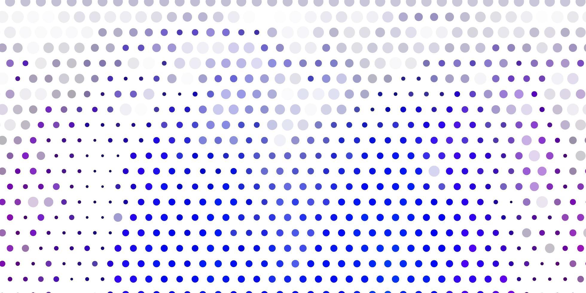 modelo de vetor rosa claro, azul com círculos.