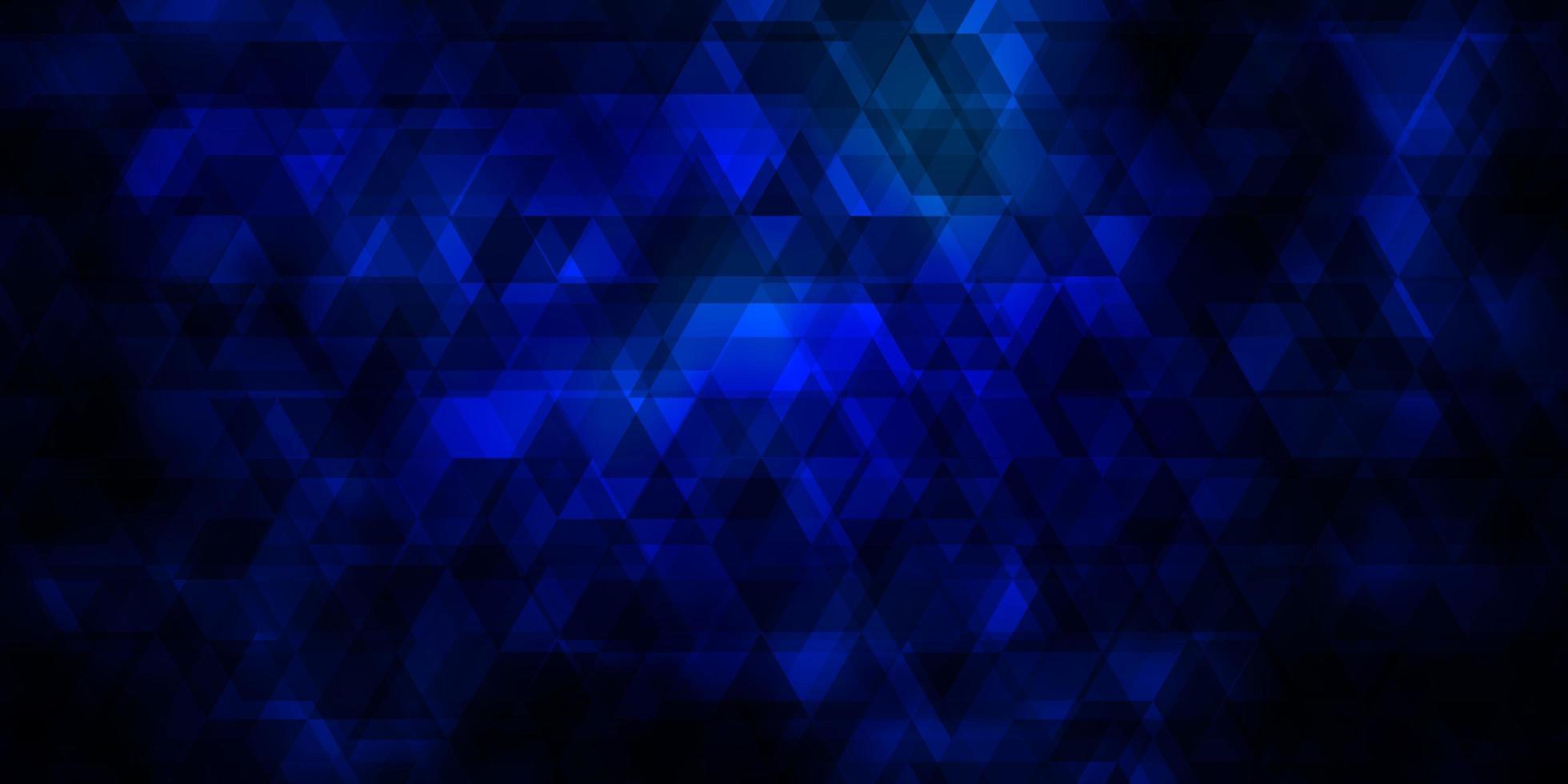 fundo vector azul escuro com linhas, triângulos.