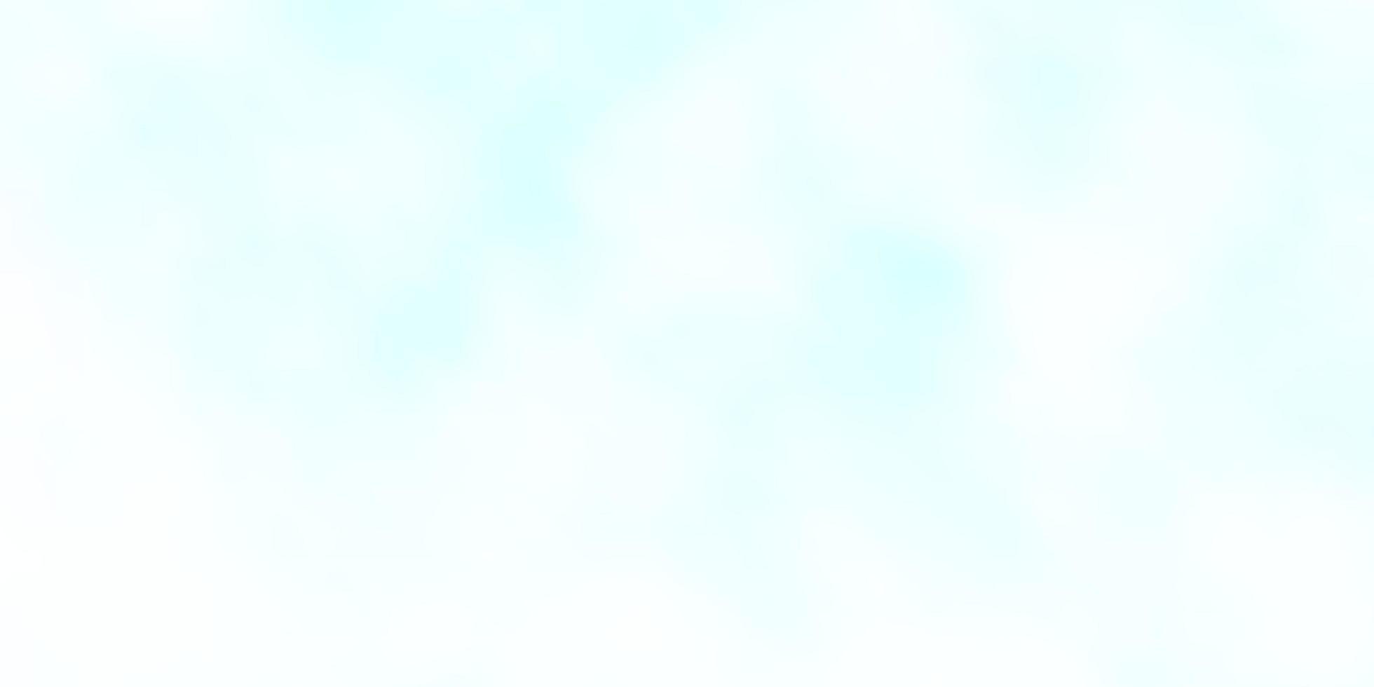 modelo de vetor azul claro com céu, nuvens.