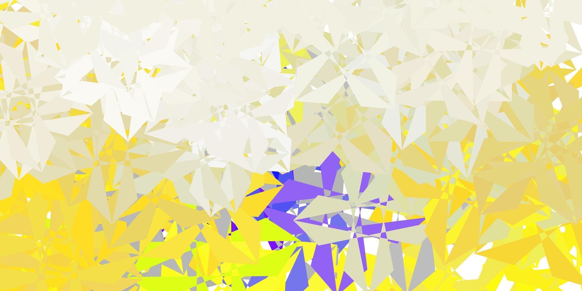 fundo poligonal do vetor cinza claro.