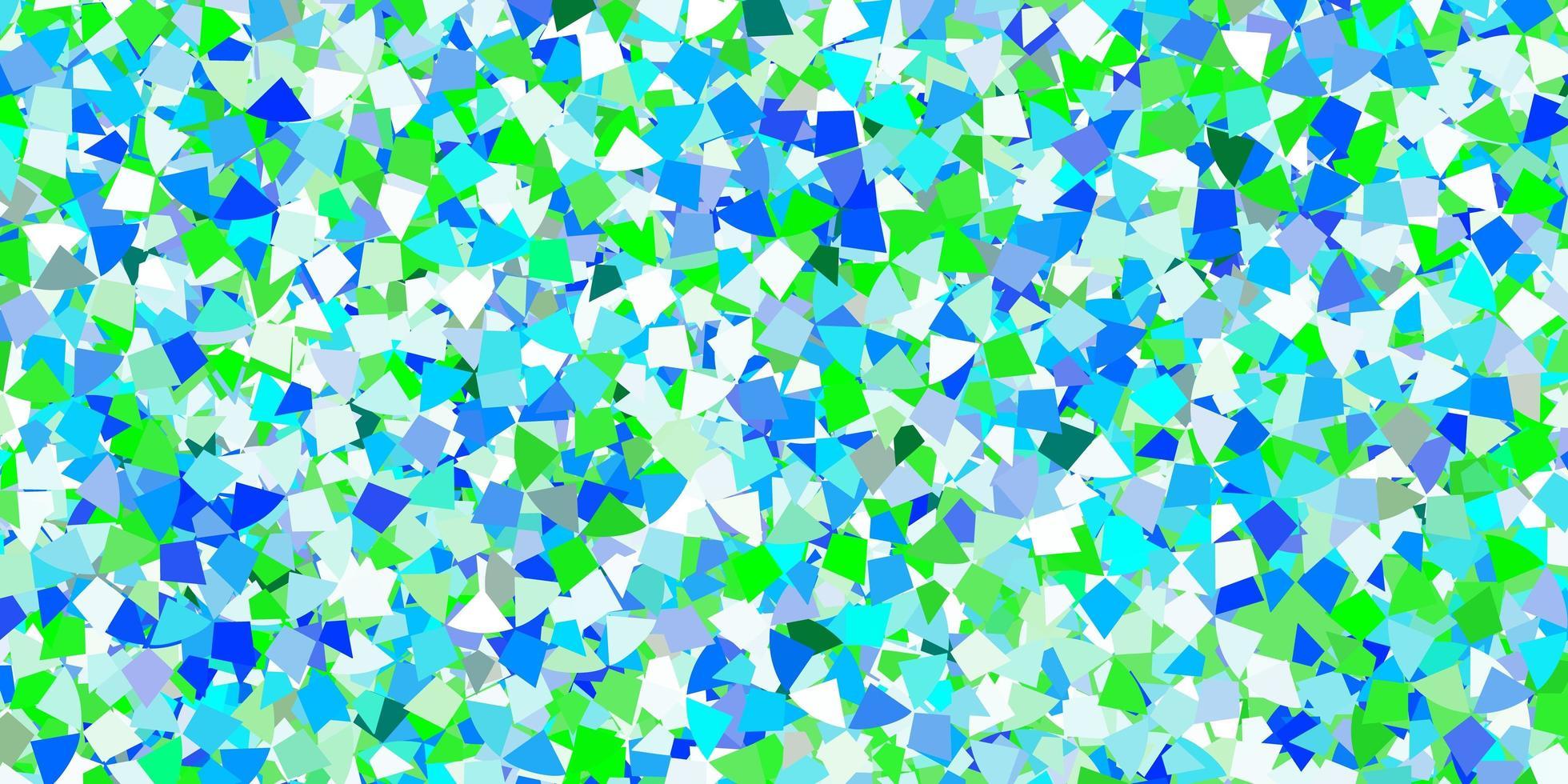 fundo vector azul claro com estilo poligonal.