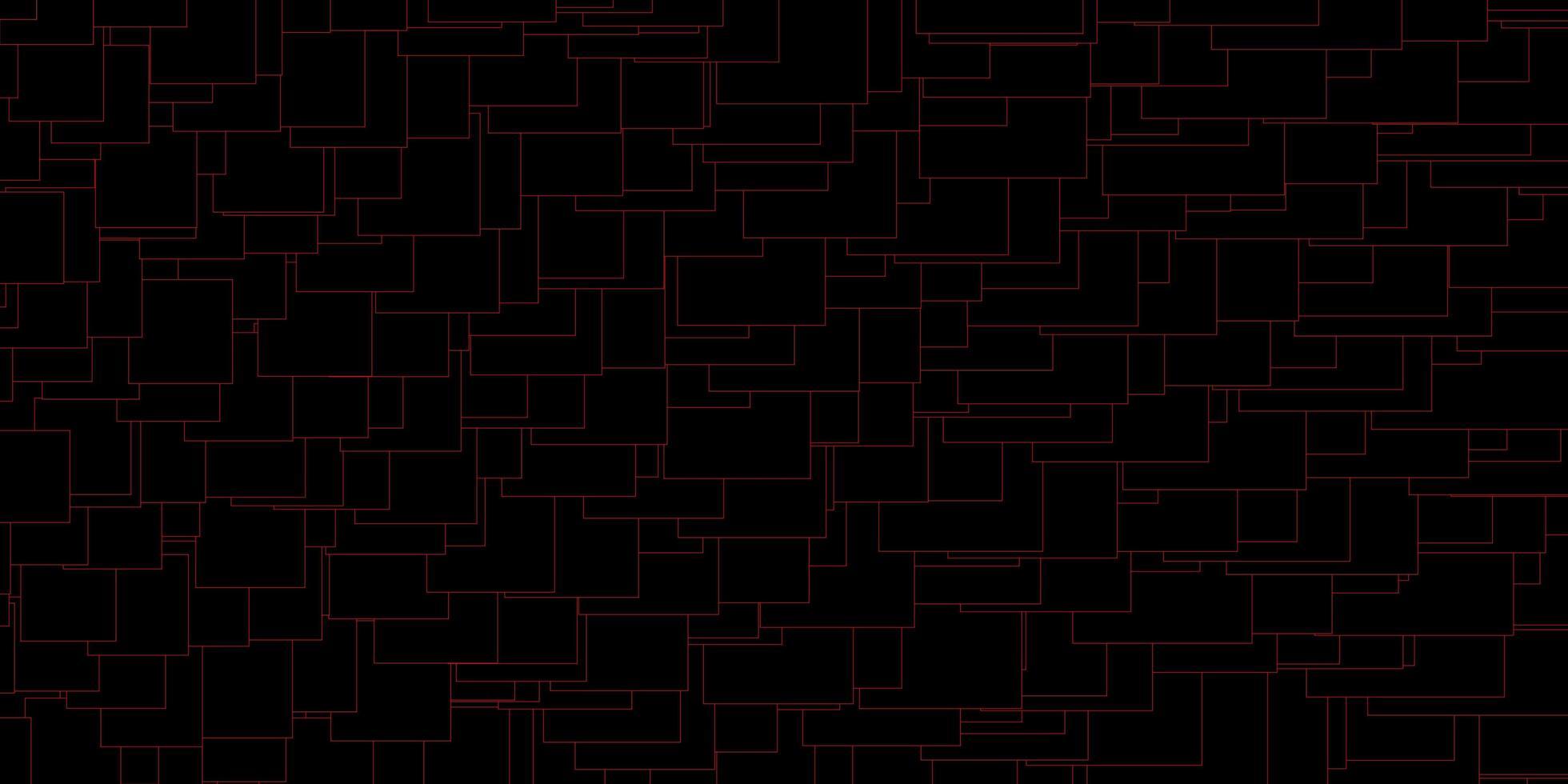 padrão de vetor vermelho escuro em estilo quadrado.