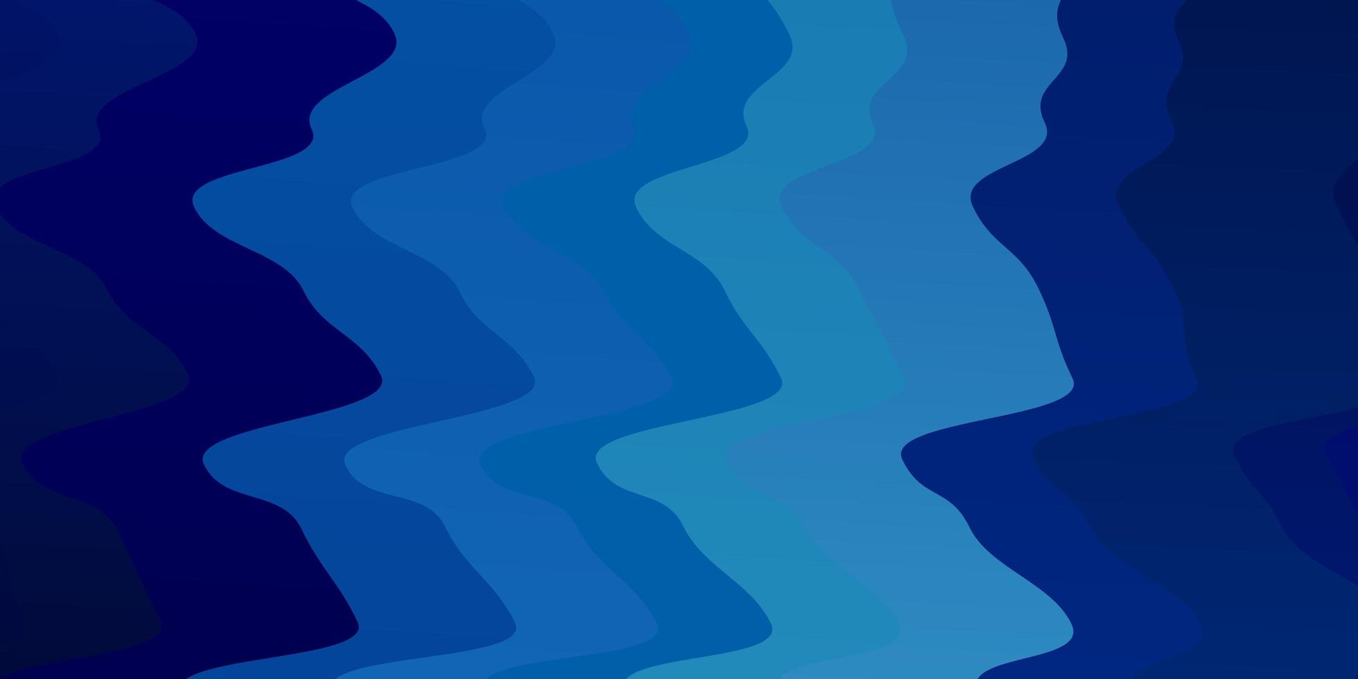 padrão de vetor azul claro com linhas curvas.