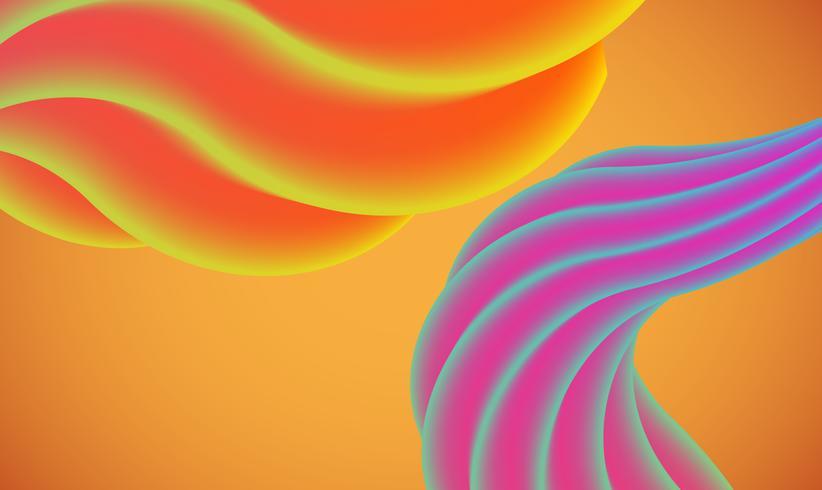 Fundo colorido abstrato para publicidade, ilustração vetorial vetor
