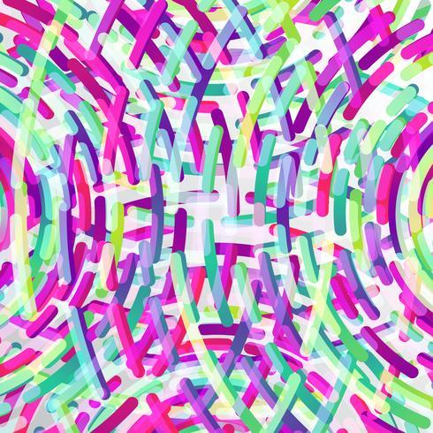 Néon colorido círculos de fundo, vetor