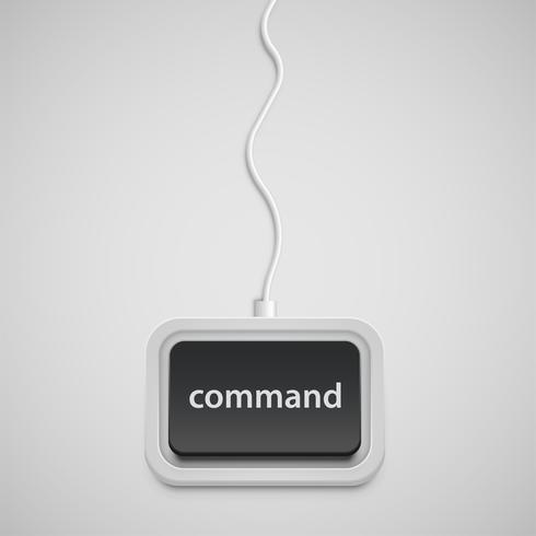 Teclado simplificado com uma palavra só, vetor
