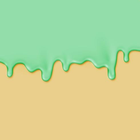 Tinta realista em fundo colorido diferente, ilustração vetorial vetor