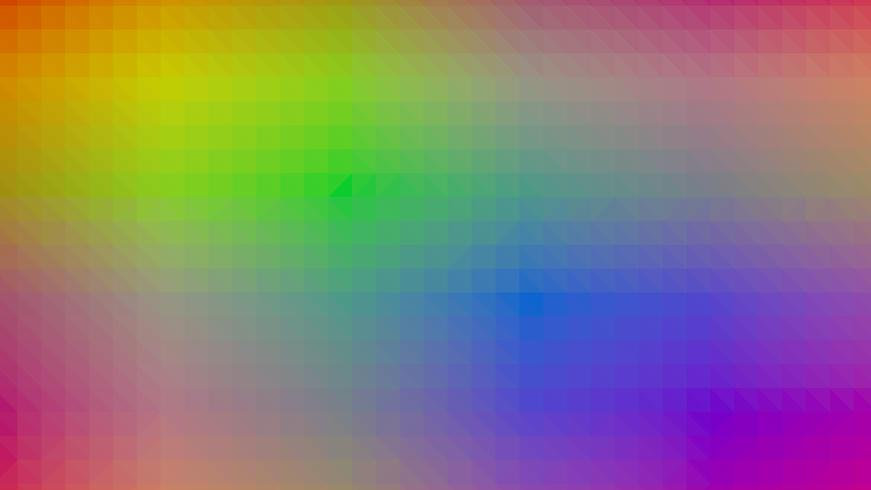 Projeto de conexão poligonal colorido com, ilustração vetorial de baixo poli vetor