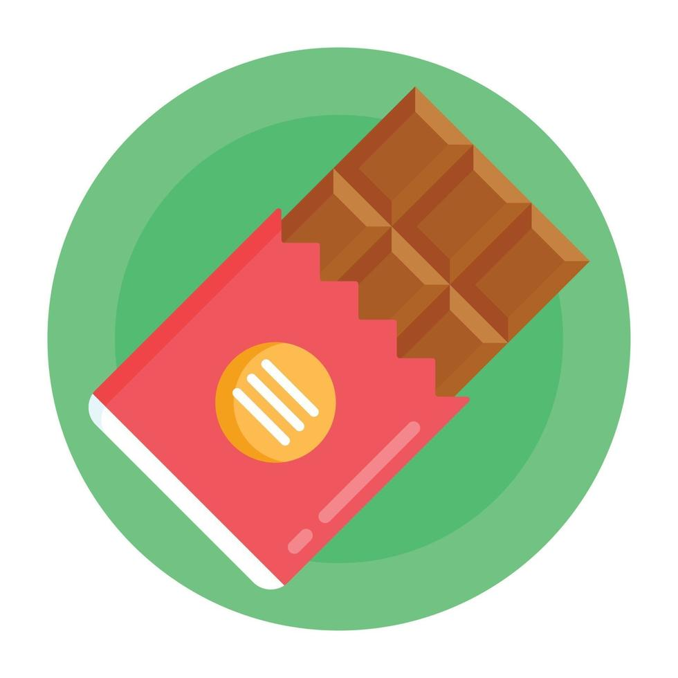 chocolate e doce vetor