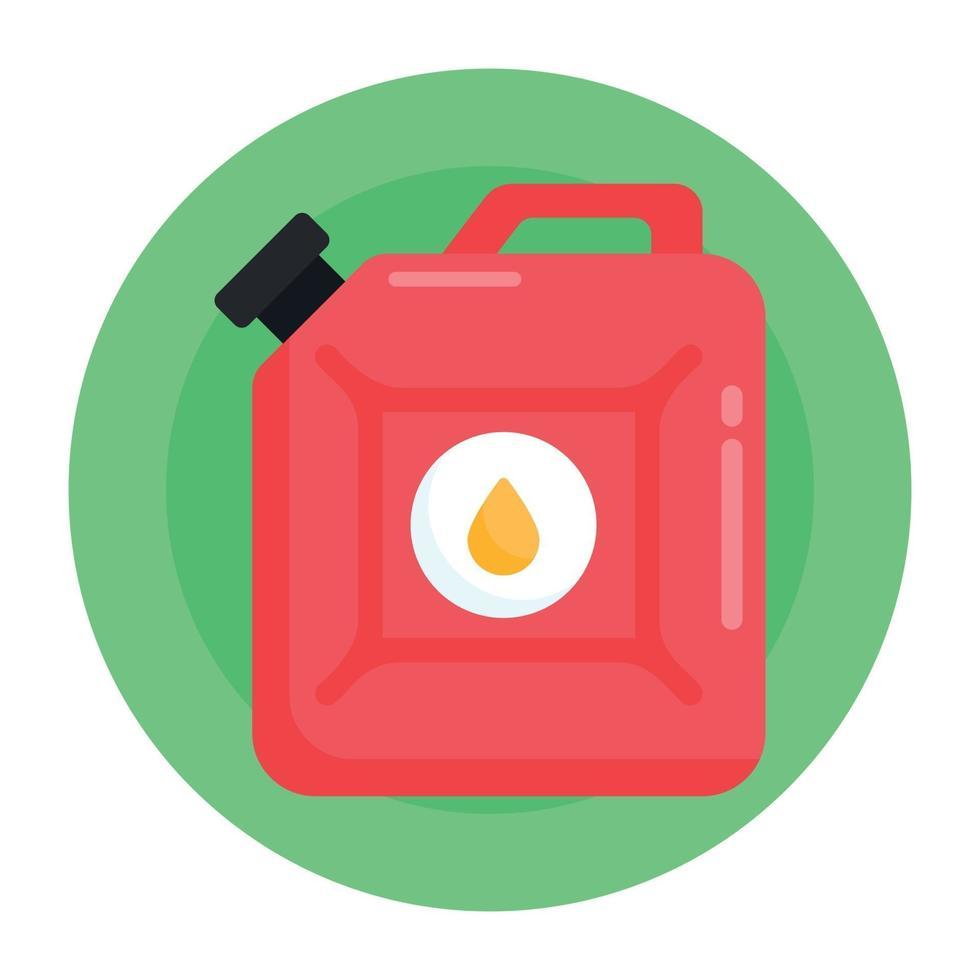 lata de óleo e querosene vetor