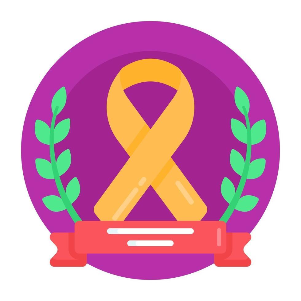esperança e proteção contra o câncer vetor