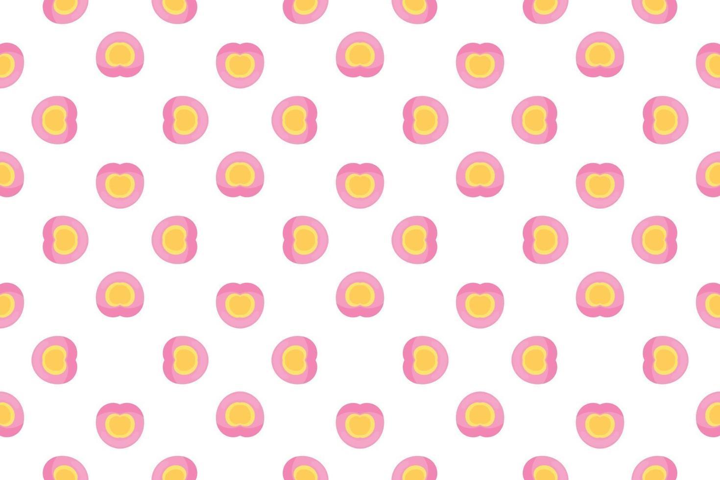 padrão de coração em gradiente rosa para papel de embrulho. vetor