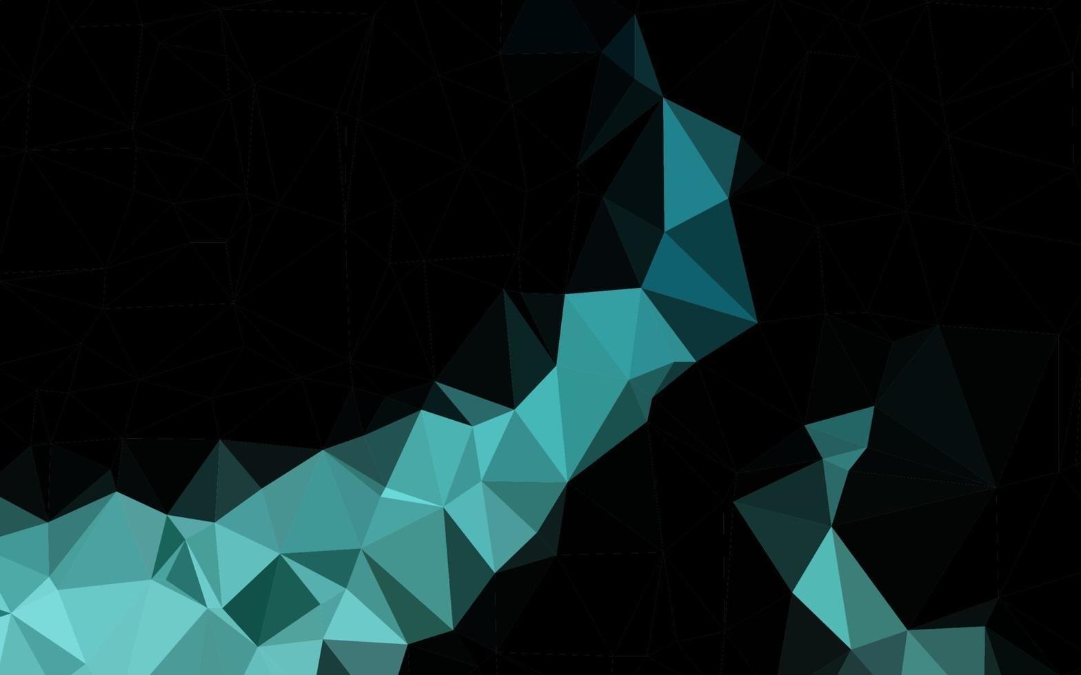 textura poligonal do sumário do vetor azul claro.