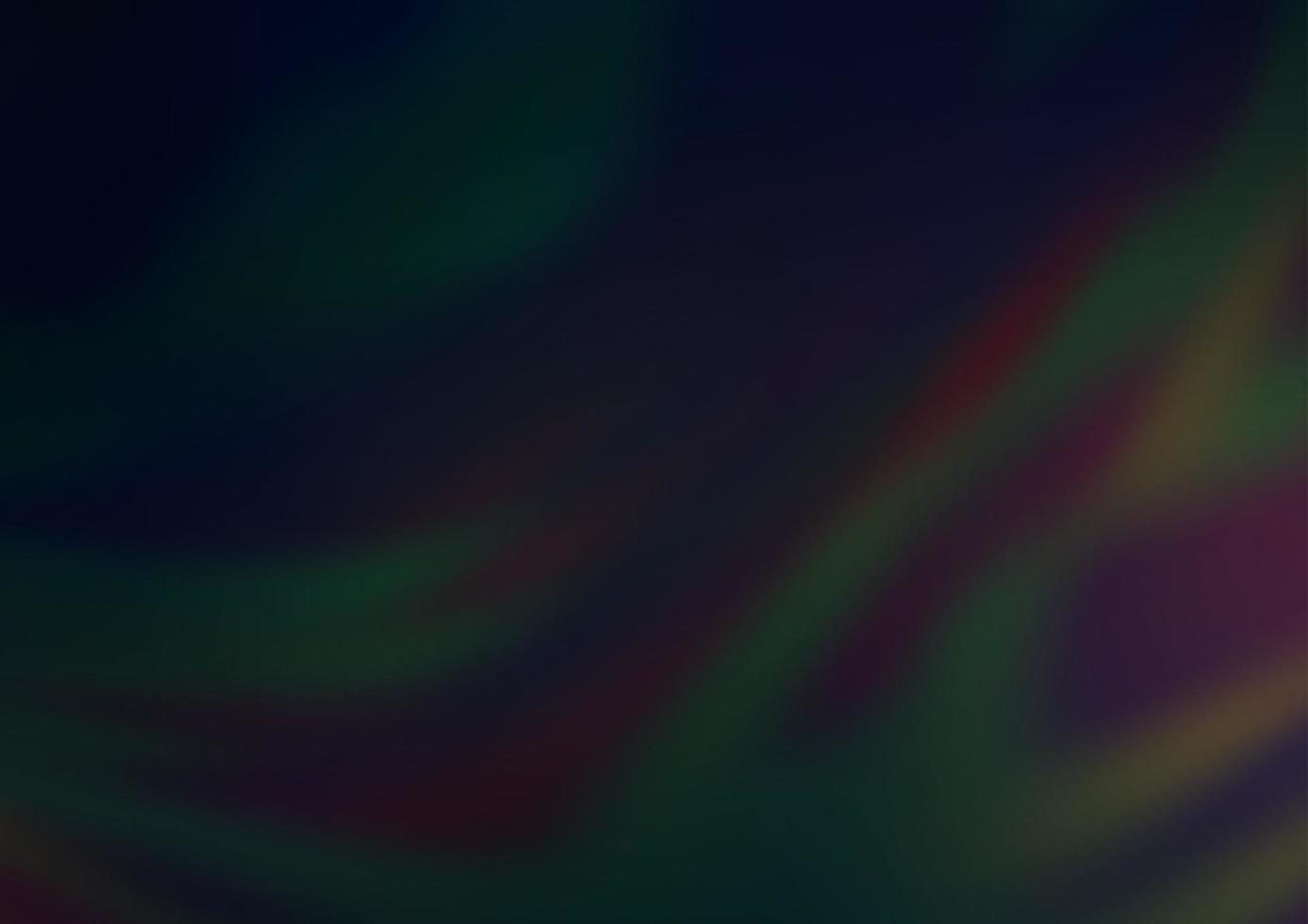 padrão de bokeh abstrato de vetor preto escuro.