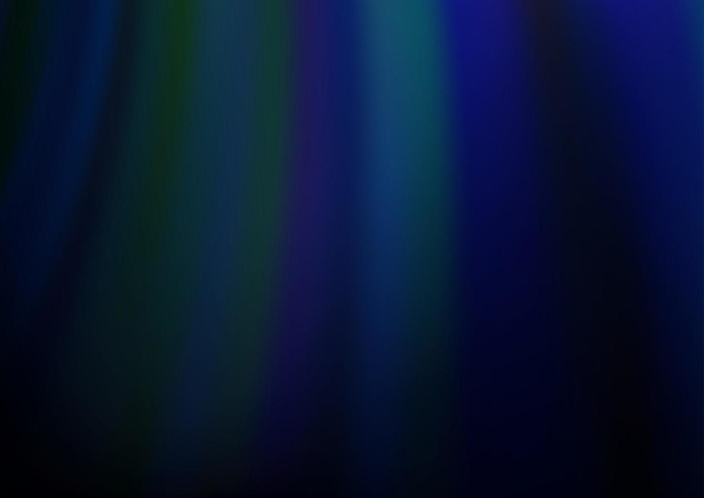modelo de vetor azul escuro com fitas dobradas.