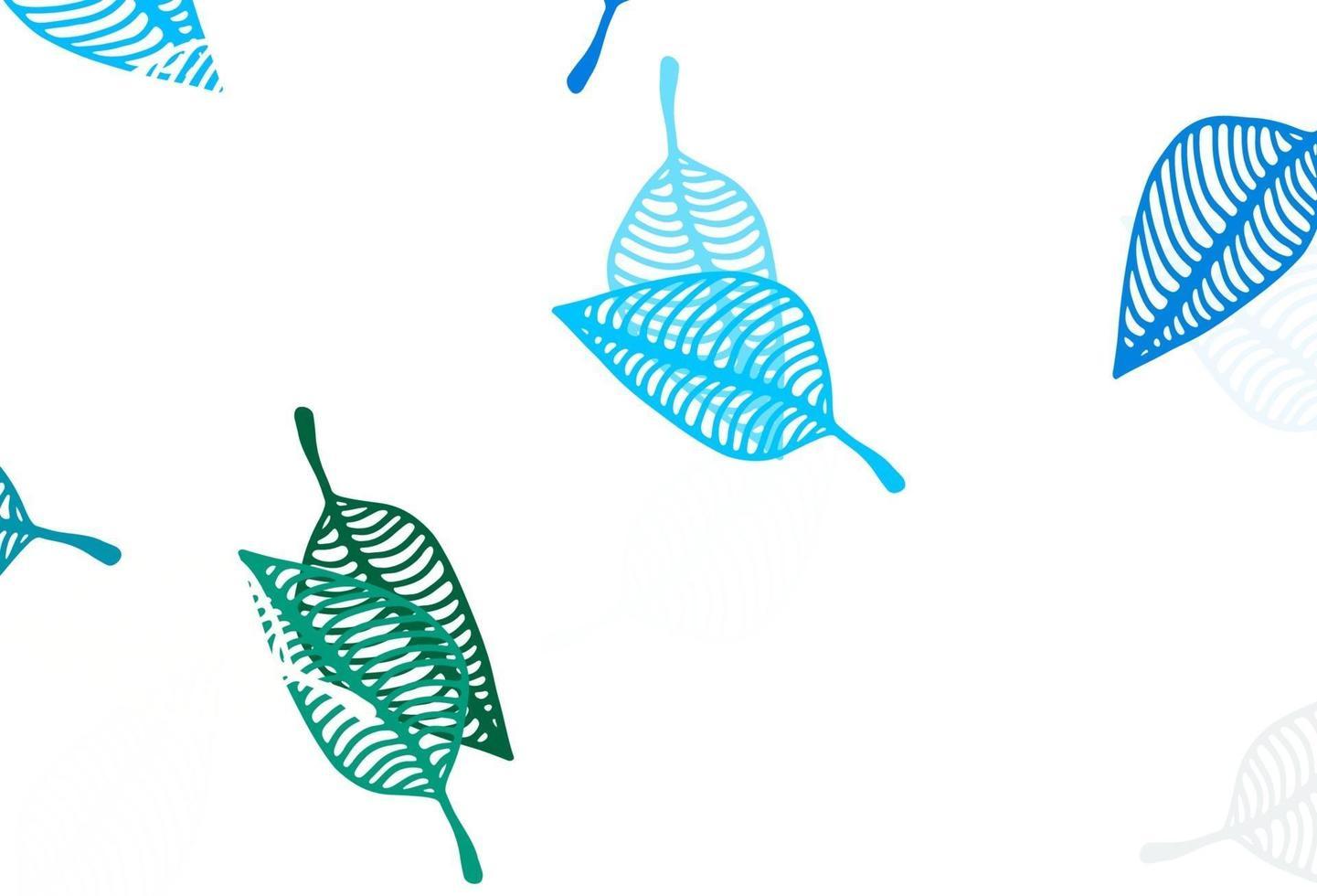 modelo de desenho de vetor azul claro e verde.