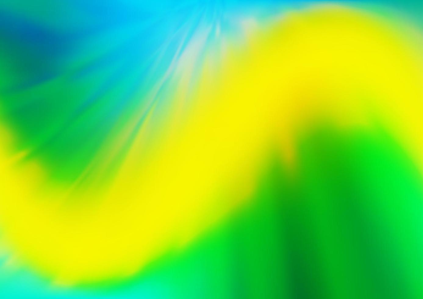 vetor verde escuro e amarelo turva e fundo colorido.
