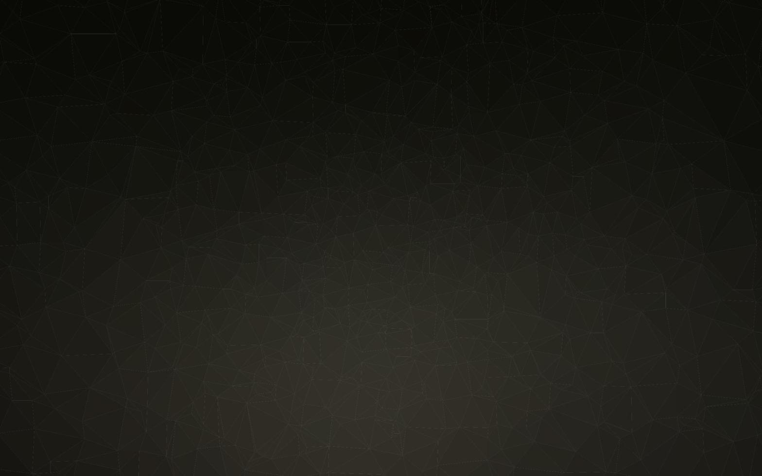 capa de poli baixa vector preto escuro.