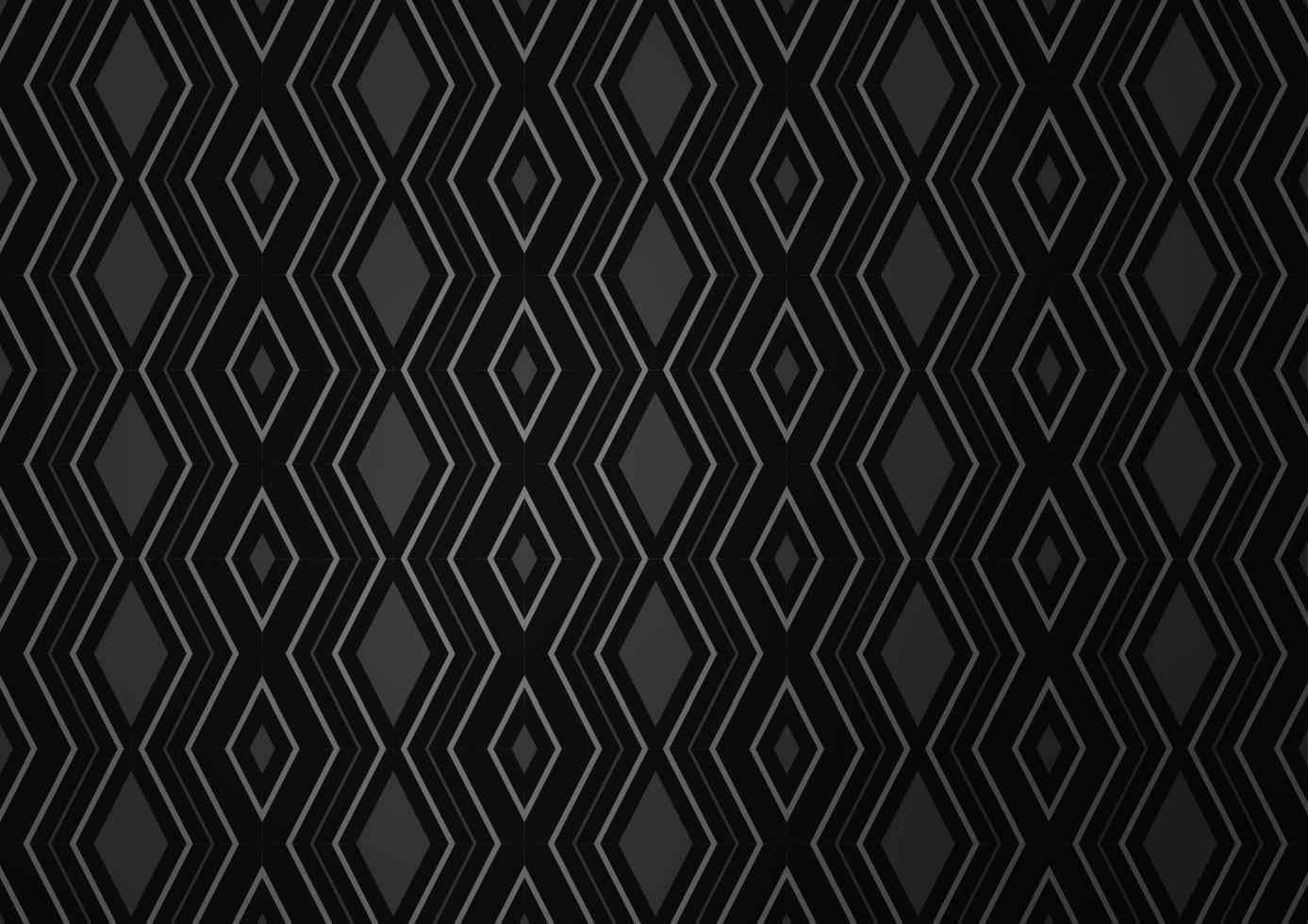 modelo de vetor preto escuro com varas, quadrados.