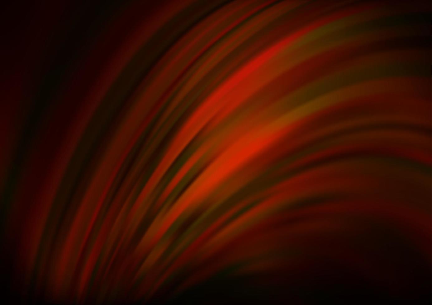 modelo de vetor vermelho e amarelo escuro com linhas ovais.