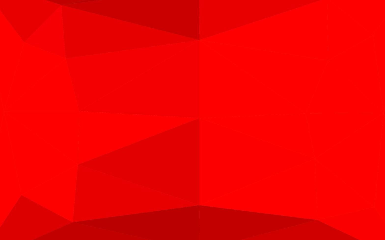 layout poligonal abstrato de vetor vermelho claro.