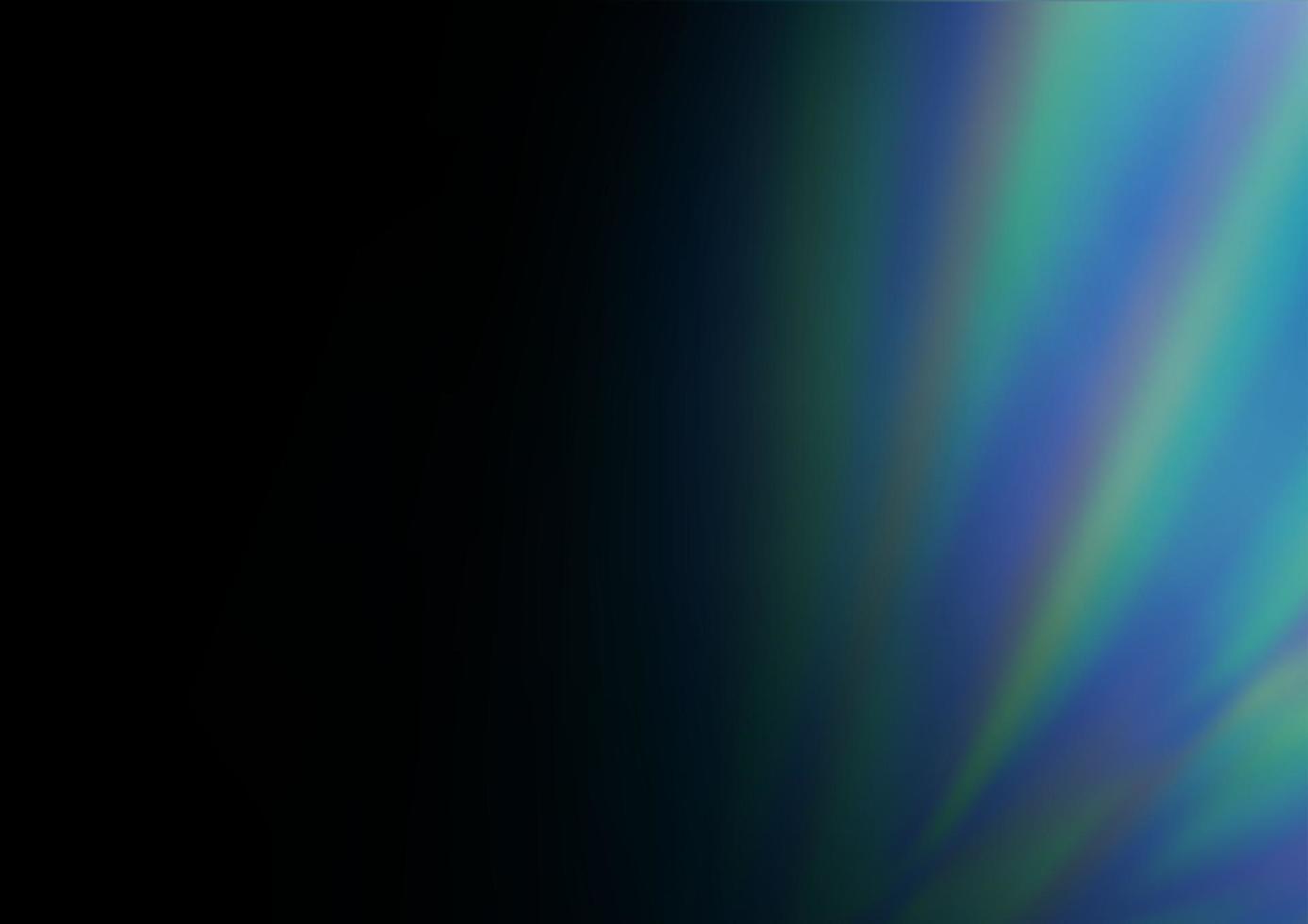 modelo abstrato brilhante de vetor azul escuro.