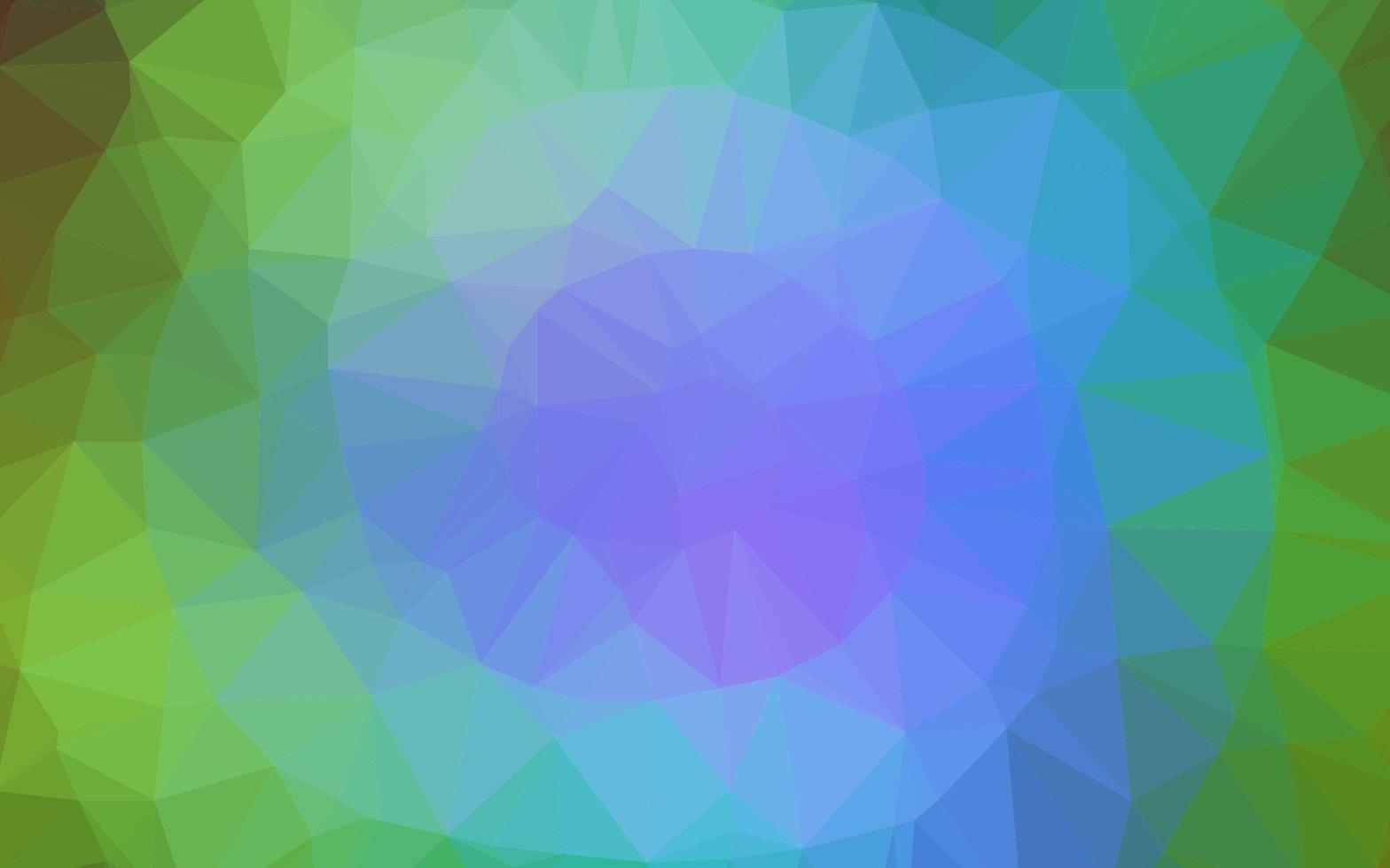 luz multicolorida, modelo poligonal de vetor de arco-íris.