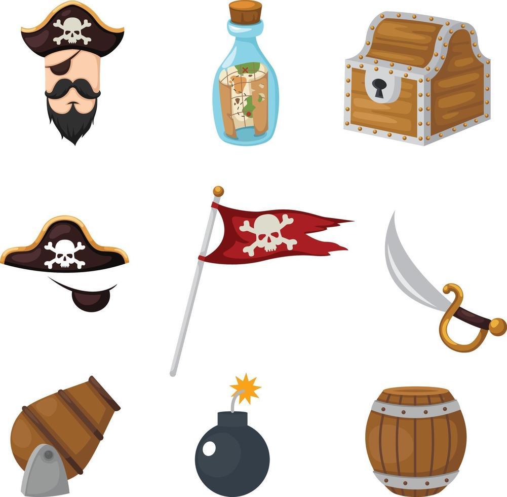 piratas definir vetor