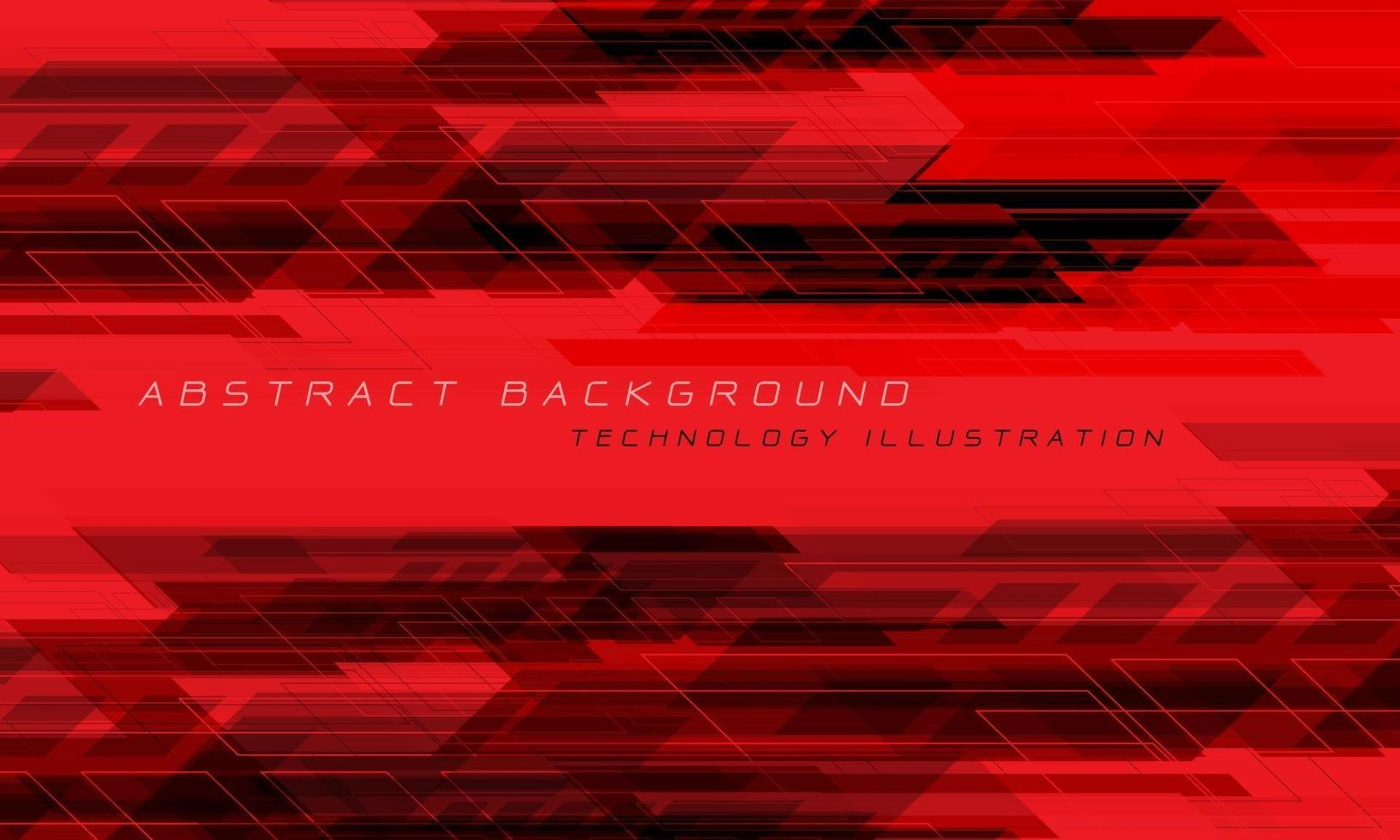 abstrato vermelho preto geométrico dinâmico criativo futurista tecnologia vetor