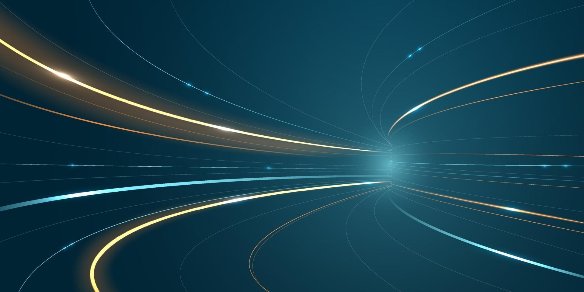 abstrato velocidade linha fundo tecnologia rede ilustração vetorial. vetor