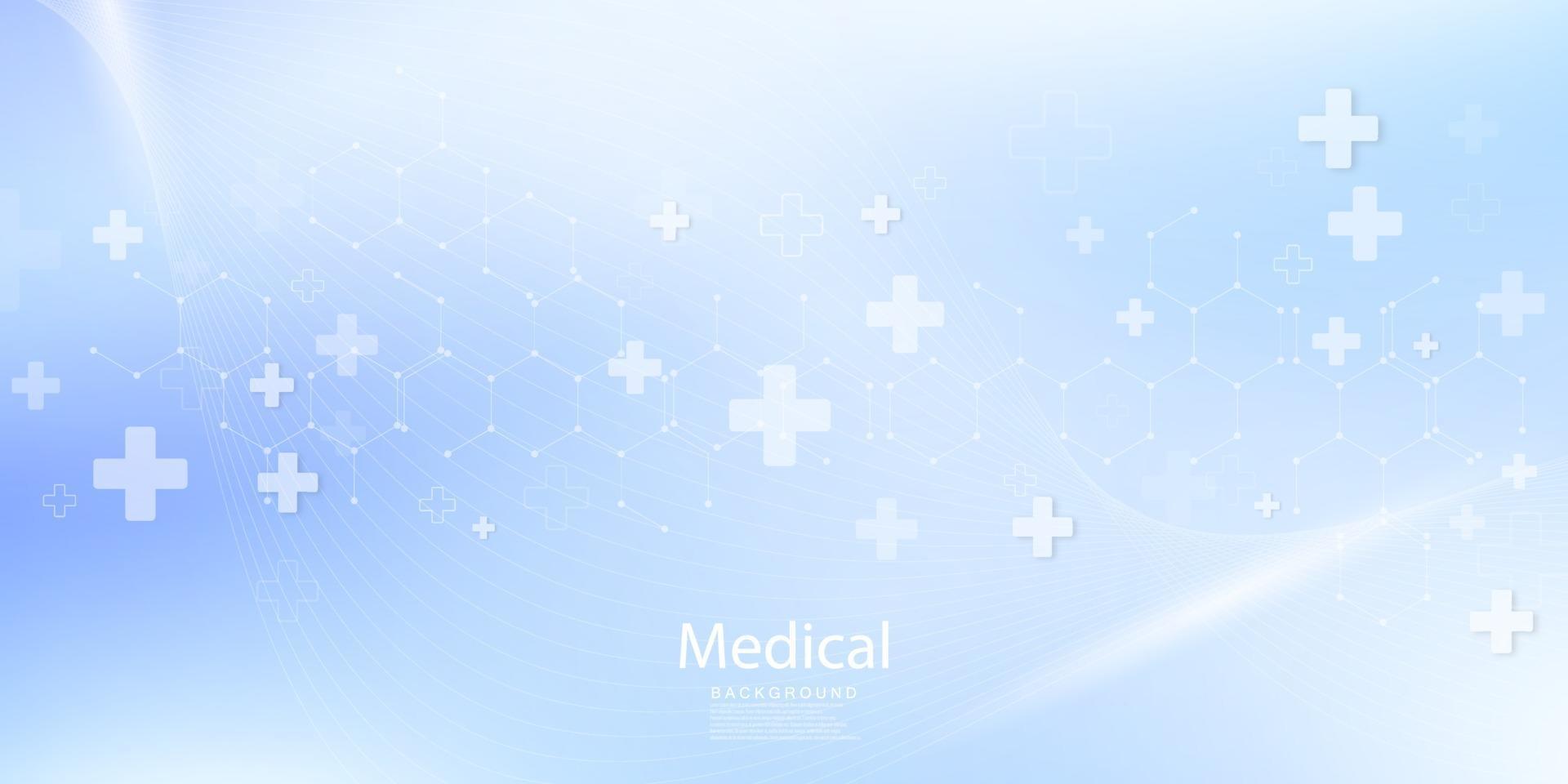conceito de inovação médica conceito abstrato de comunicação de tecnologia vetor