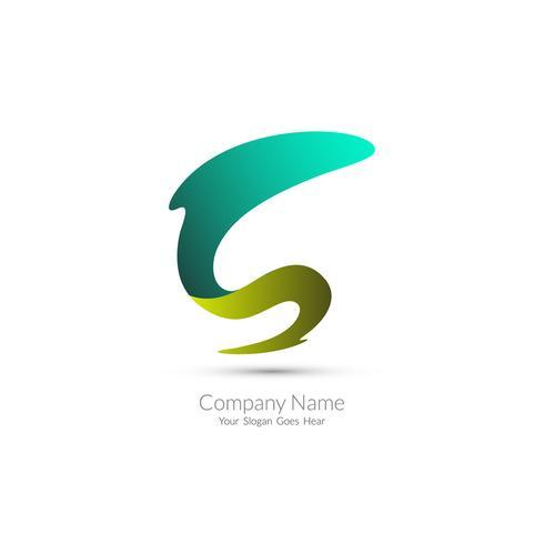 Design de logotipo moderno vetor