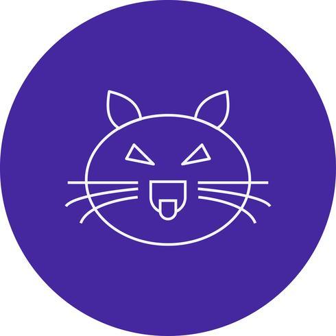 ícone de gato do vetor