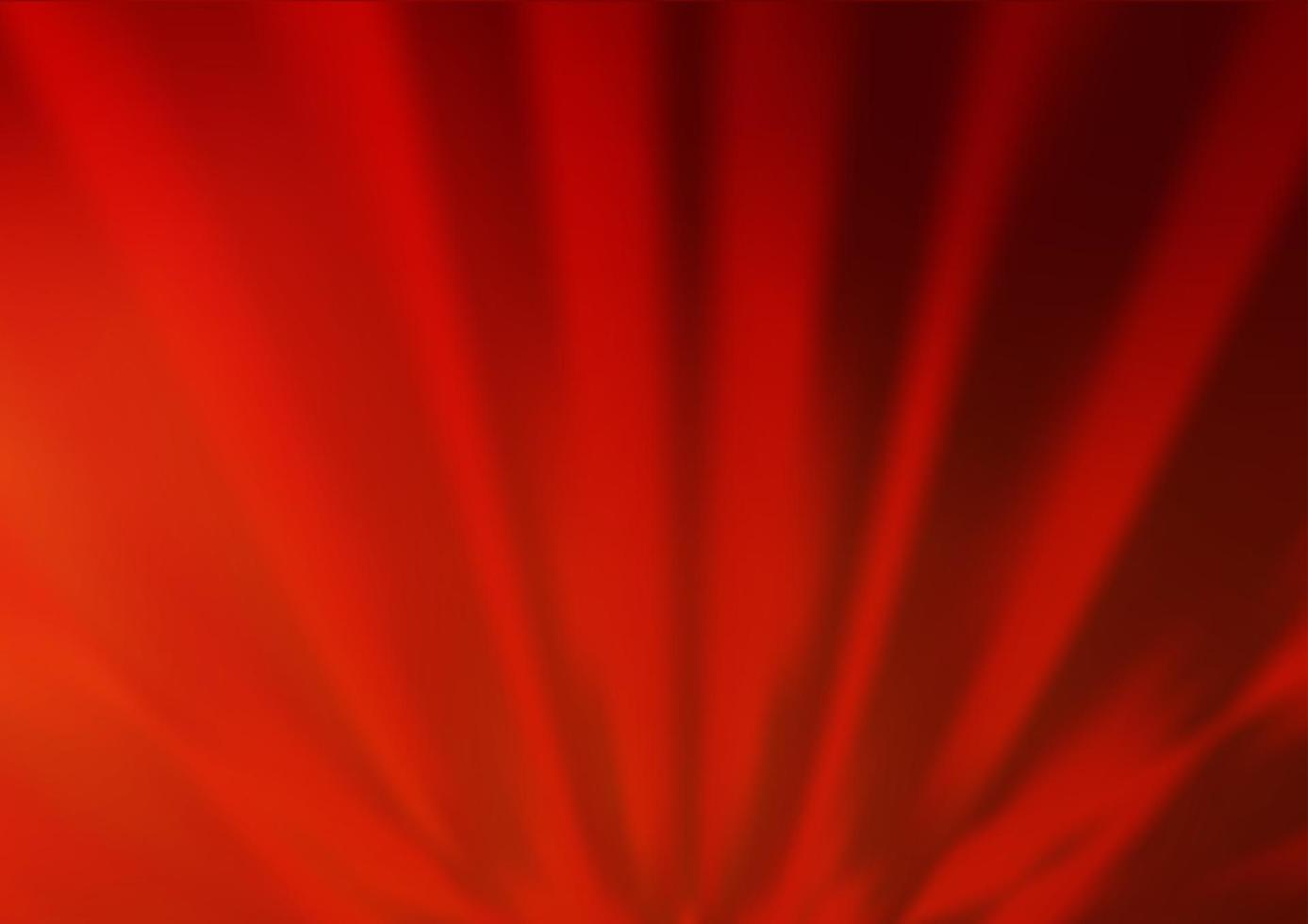 padrão de bokeh de vetor vermelho claro.