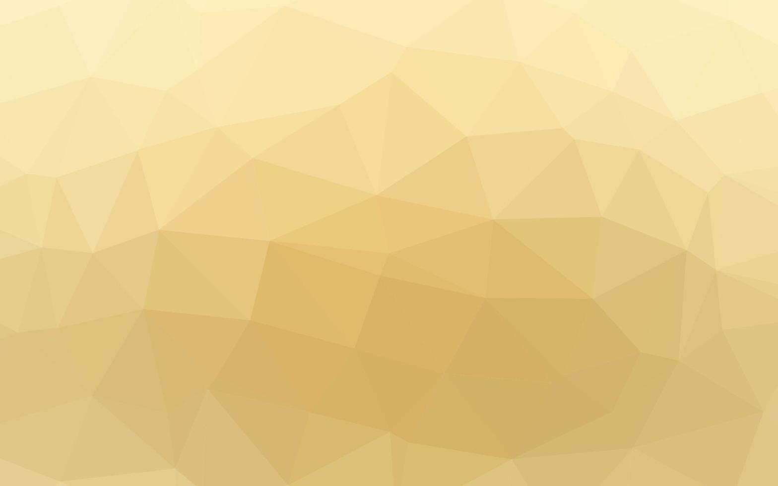 textura de baixo poli de vetor amarelo e laranja claro.