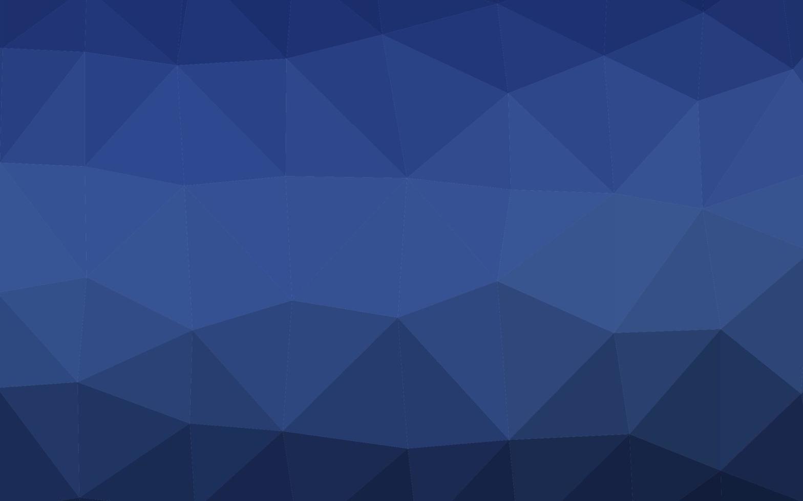 textura poligonal abstrata do vetor azul escuro.