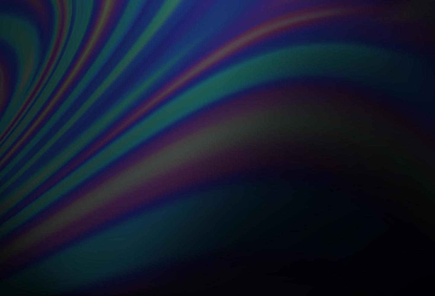 fundo vector azul escuro com formas de lâmpada.
