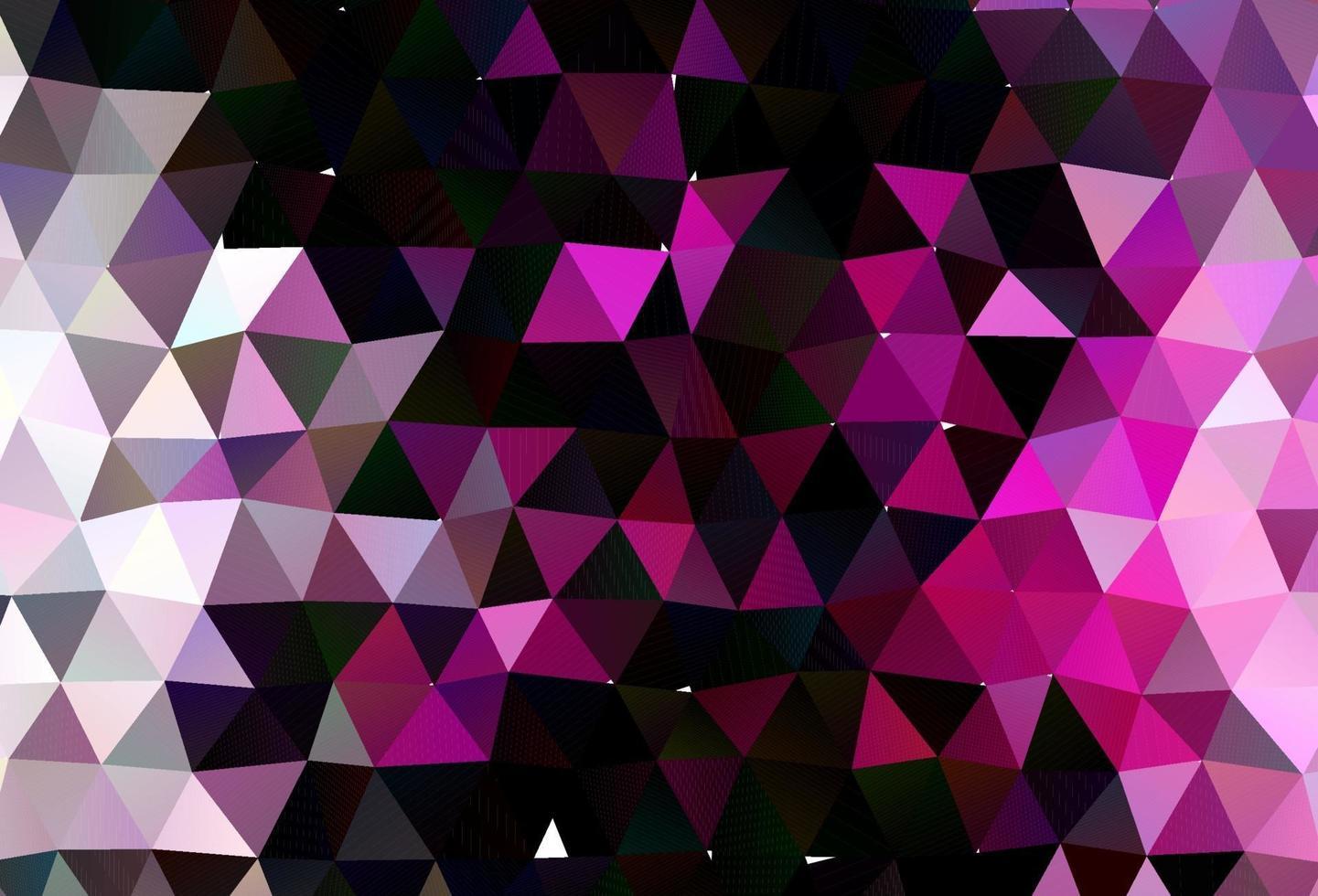 capa de baixo poli de vetor rosa claro.