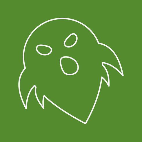 ícone de fantasma de vetor