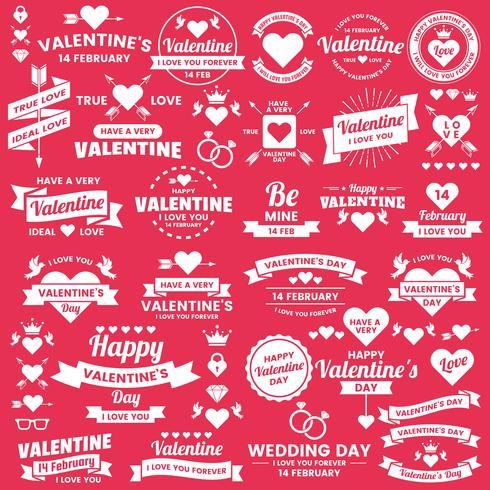Banner de modelo dos namorados de fundo Vector para banner