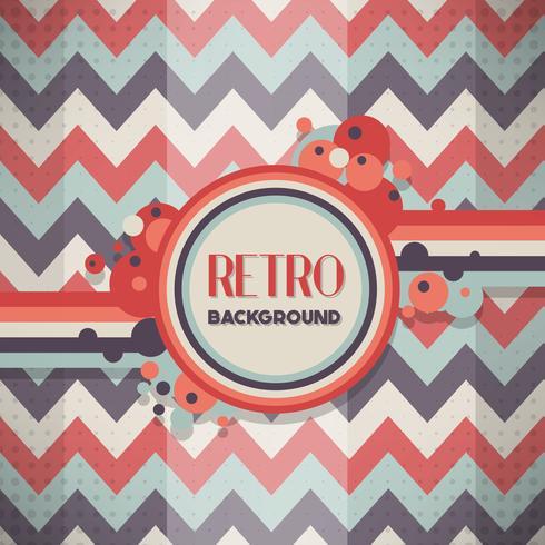 Modelo de Design retro vintage estilo de fundo vetor