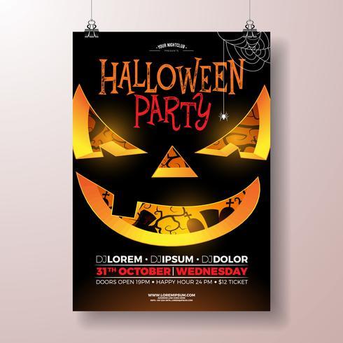 Ilustração de passageiro de festa de Halloween vetor