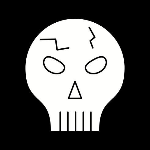 ícone de caveira de vetor