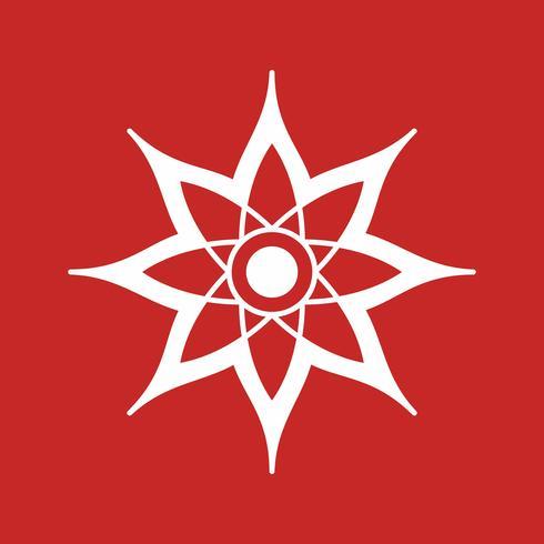 ícone de decoração de vetor