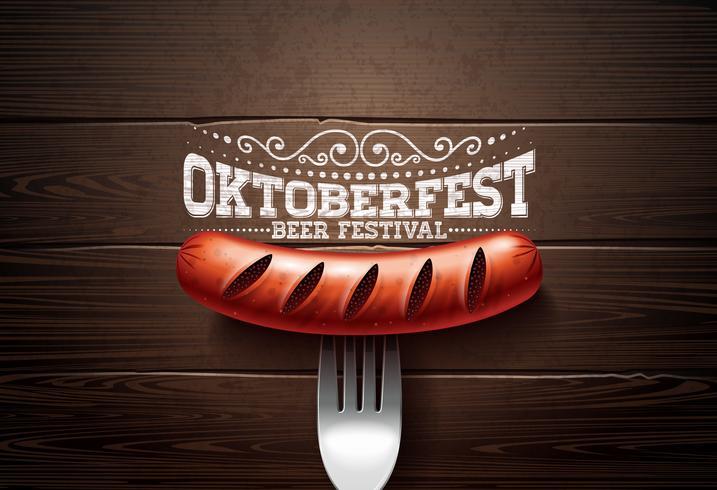 Ilustração da Oktoberfest vetor